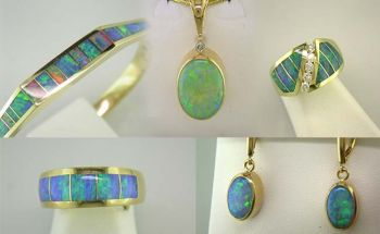 Steve Schmier's Jewelry, October is for Opals