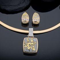 Steve Schmier's Jewelry, California Gold Bearing Quartz Collections